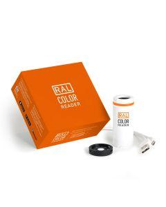 RAL ColorReader, Farbmessgerät und Box