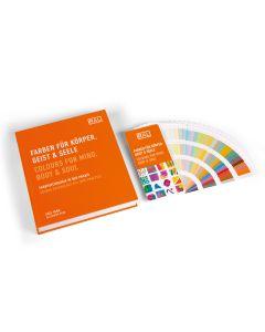 RAL Farben für Körper, Geist & Seele, Buch und Fächer