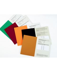 RAL 841-GL Colour primary standard card colour series 5000