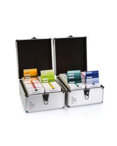 RAL P2 Set, Koffer mit 200 undurchsichtigen und transparenten RAL DESIGN plus Kunststofffarbmustern