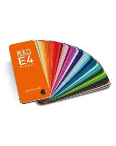 RAL E4 Farbfächer aufgefächert
